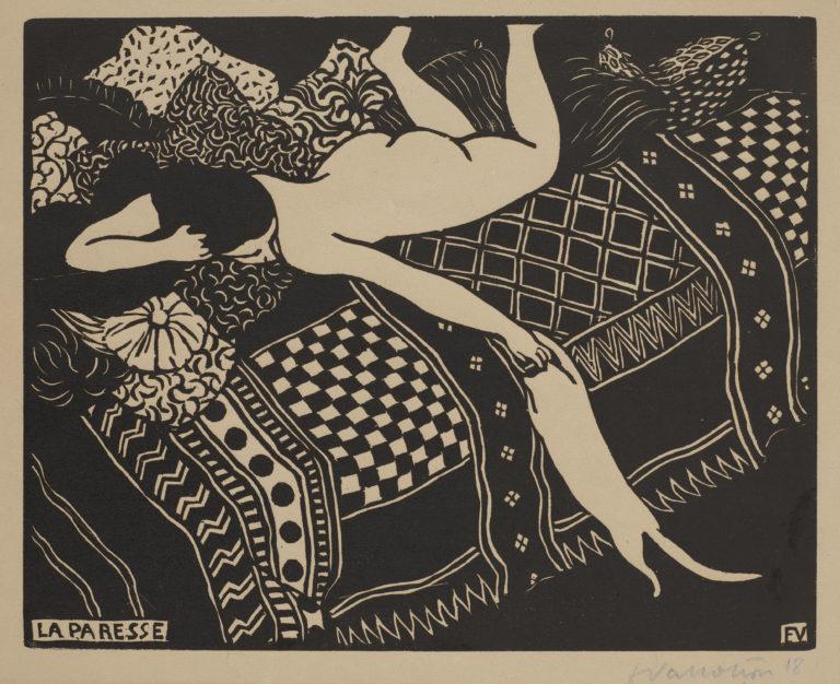 Félix Vallotton, La paresse, 1896