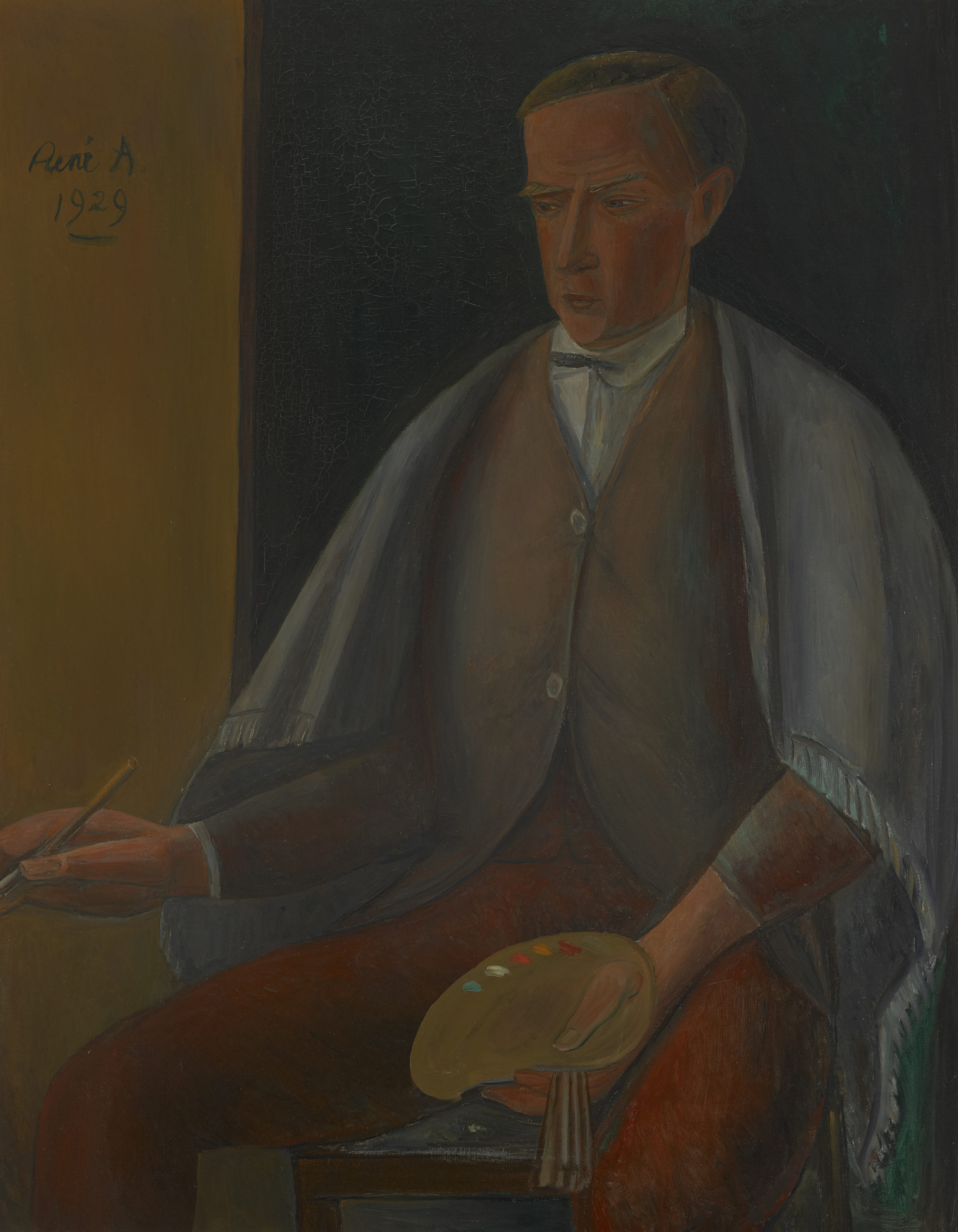 René Auberjonois , Autoportrait, 1929