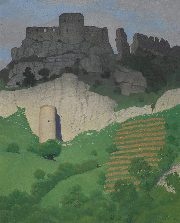 Félix Vallotton, Le château Gaillard, 1924