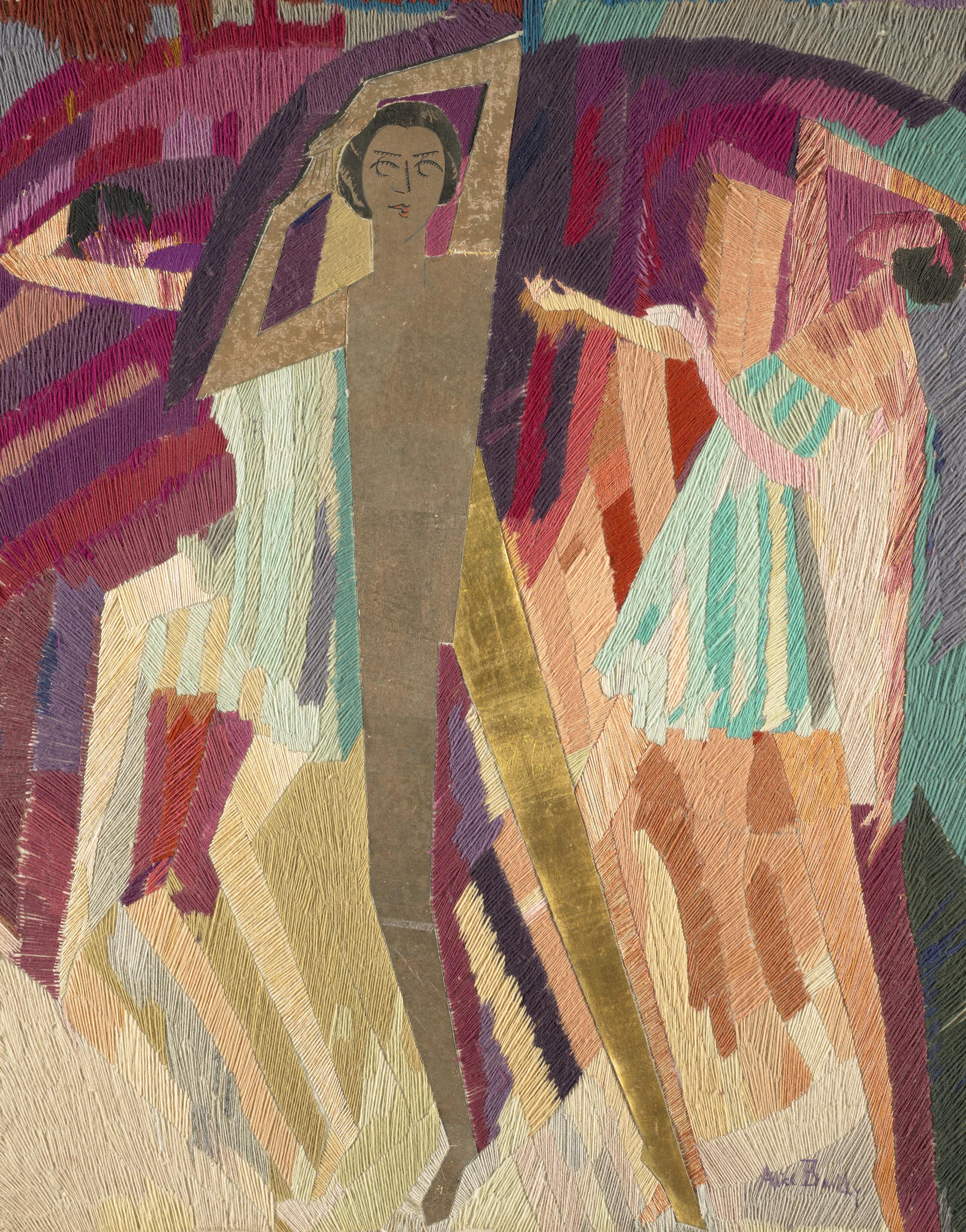 Alice Bailly, Les rythmiciennes, 1918-1919