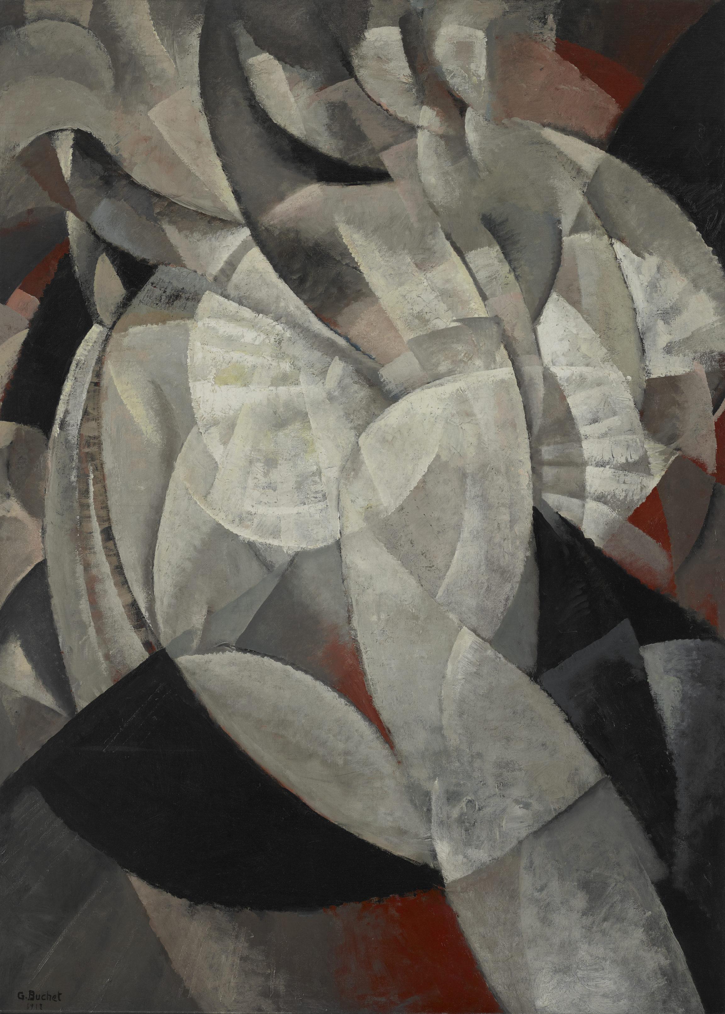 Gustave Buchet , Danseuse en mouvement (Dancer in Motion), 1918