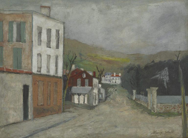 Maurice Utrillo, Paysage, Corse, 1913