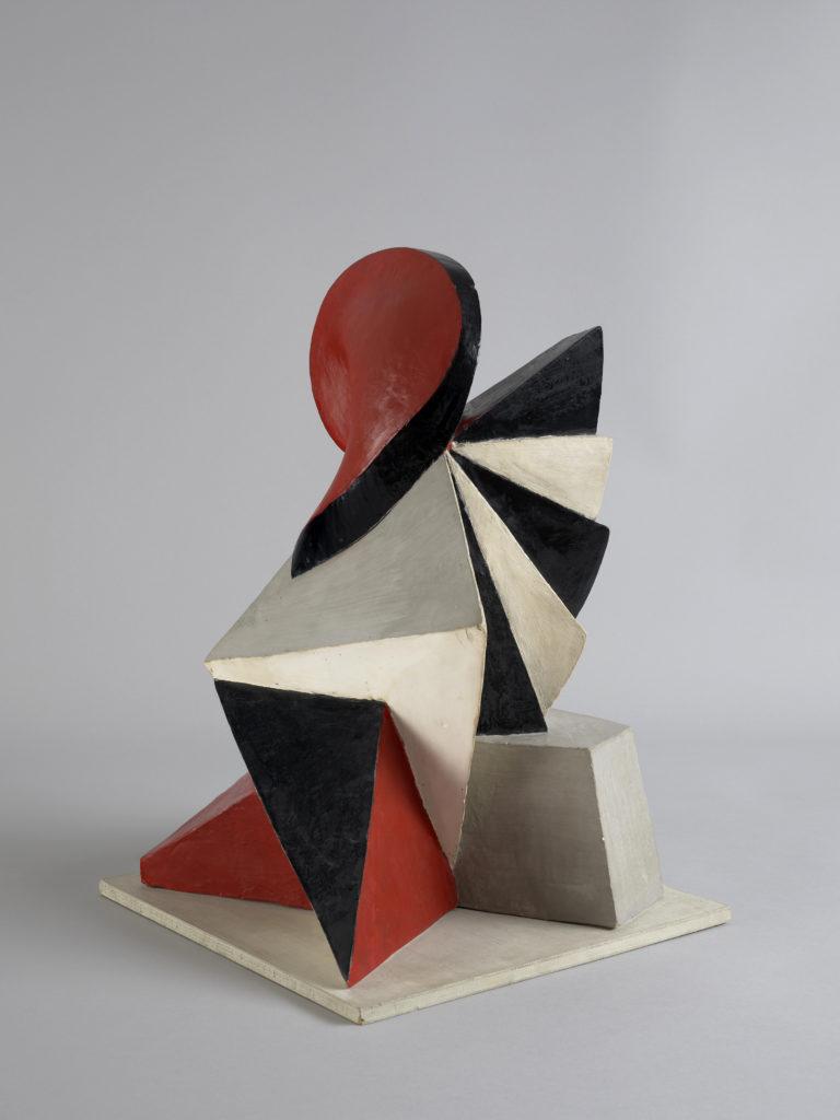 Gustave Buchet , Sculpto-peinture – abstraite –, 1923-1924