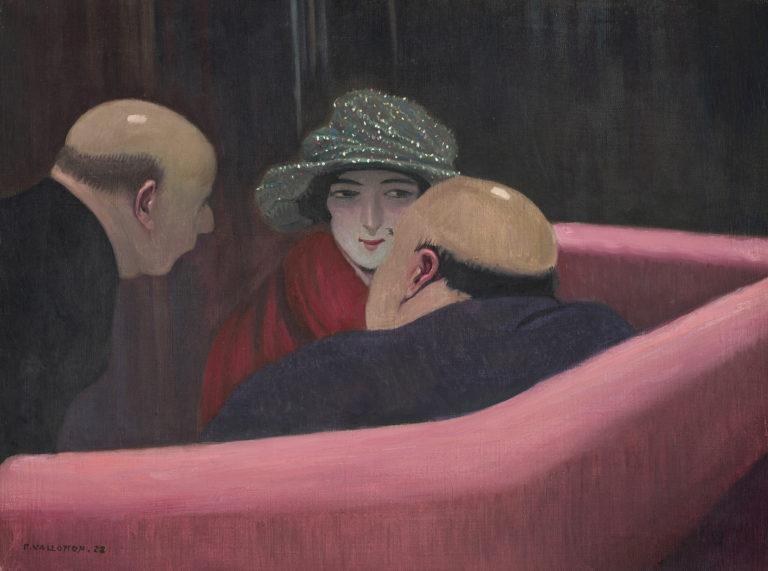 Félix Vallotton, La chaste Suzanne, 1922