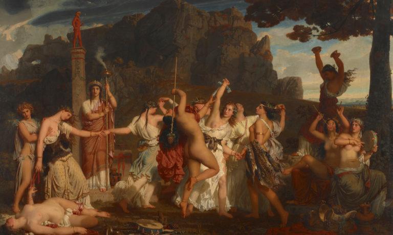 Charles Gleyre, La danse des bacchantes, 1849