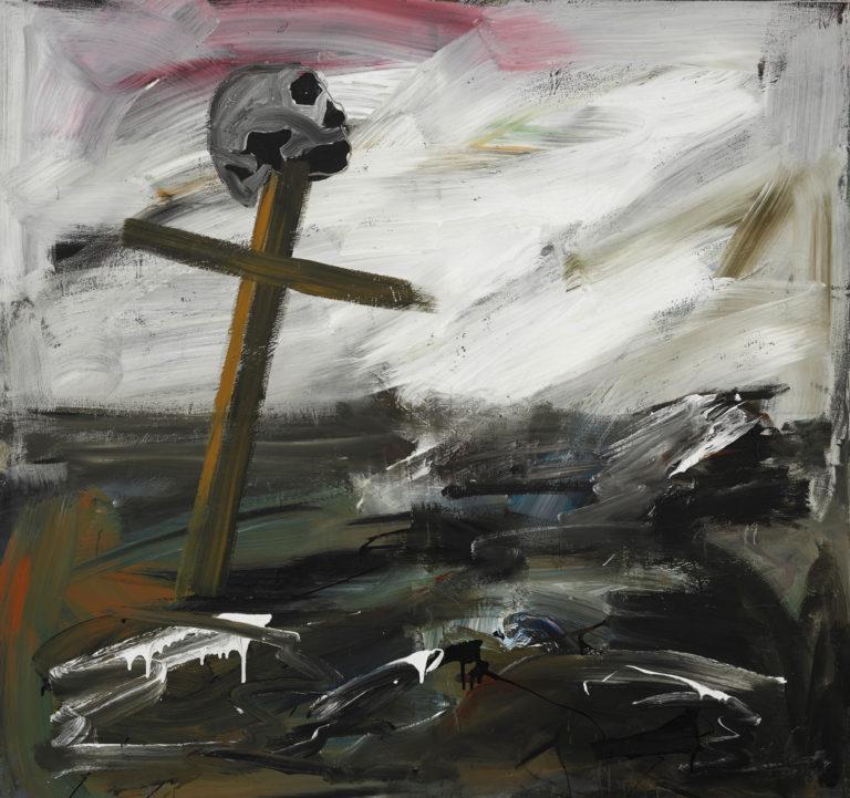 Albert Oehlen , Ohne Titel, 1981