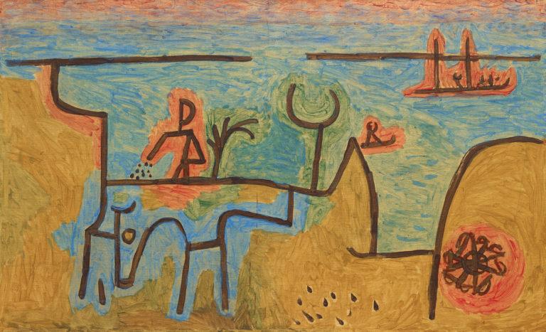 Paul Klee , Am Nil, 1939