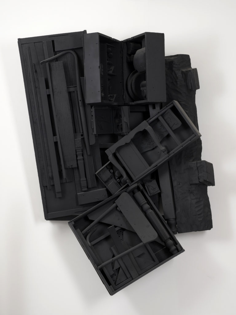 Louise Nevelson , Mirror Shadow XV, 1985