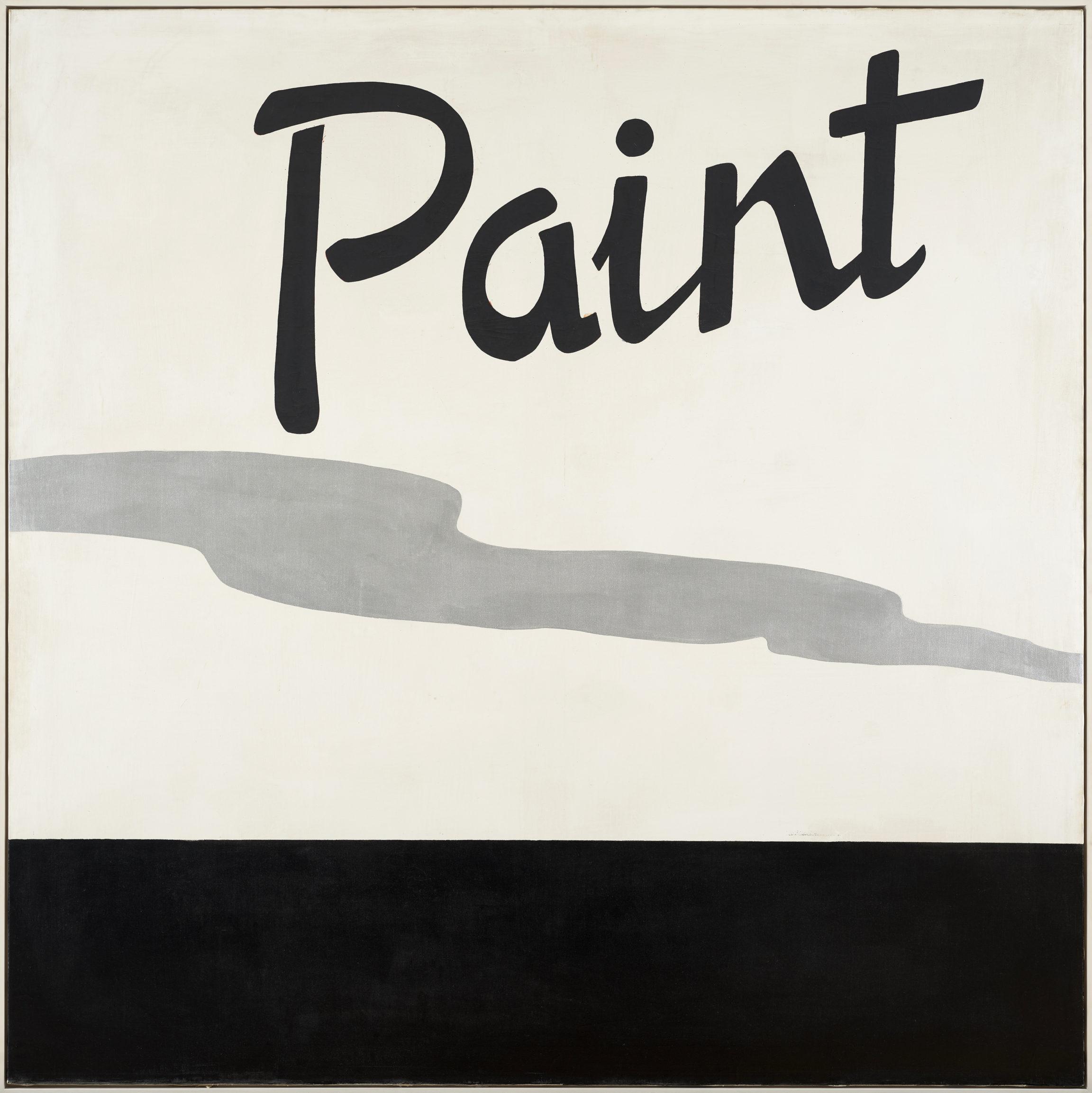 Jannis Kounellis , Untitled Paint, 1965