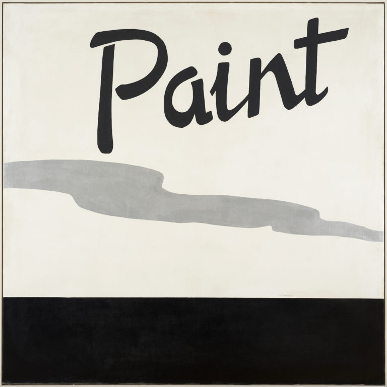 Jannis Kounellis , Untitled Paint, 1965