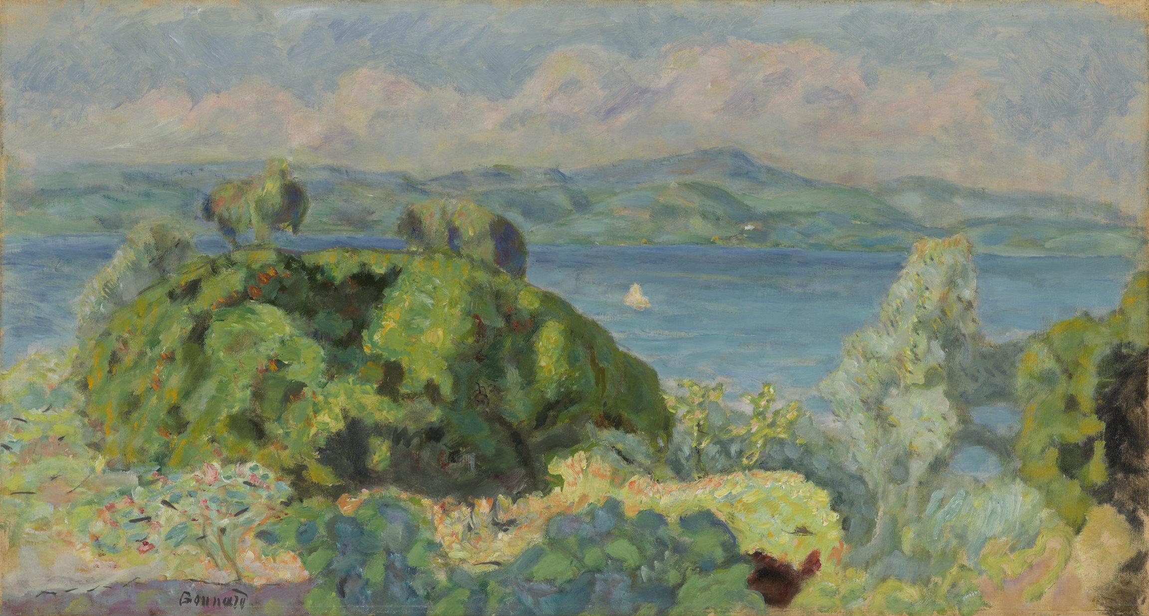 Pierre Bonnard , Beau temps orageux, 1910-1911