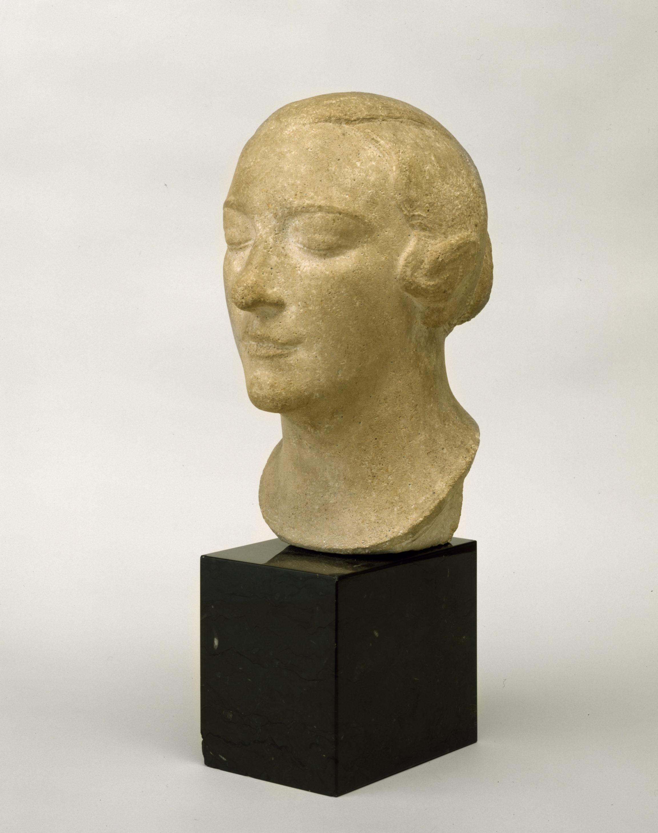 Charles Despiau , Buste de Madame André Derain, 1926