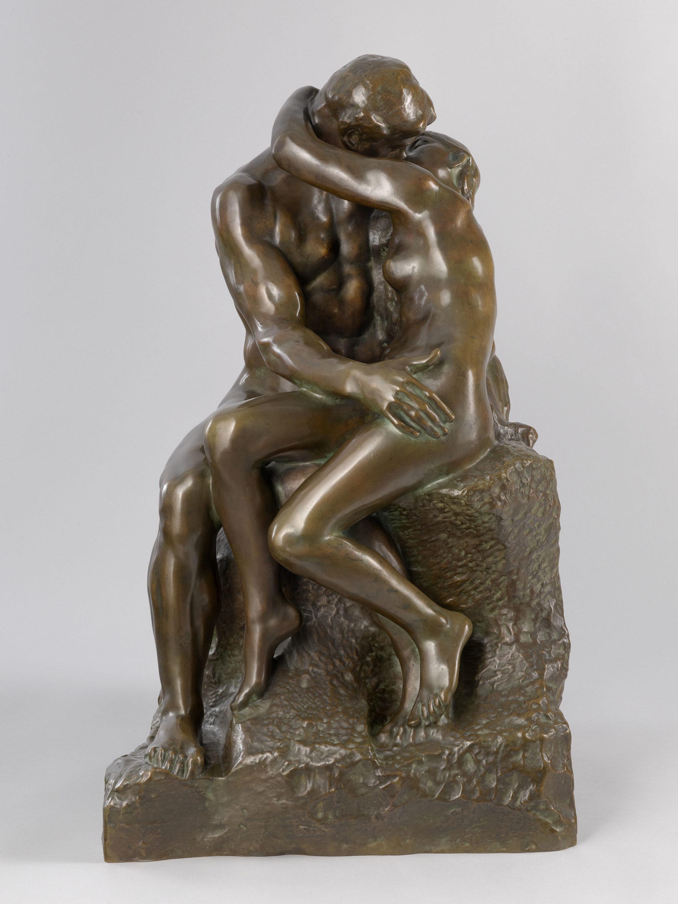 Auguste Rodin, Le baiser, 1886