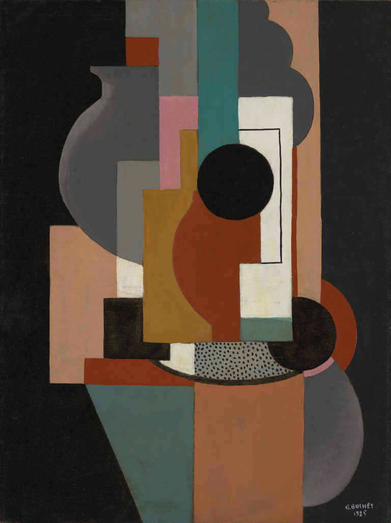 Gustave Buchet , Composition, 1925