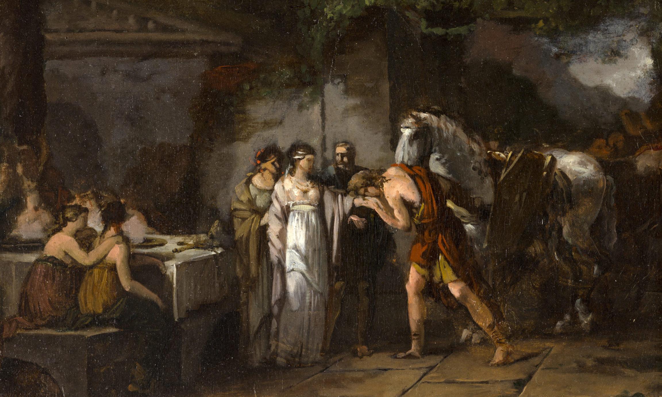 Jean-Pierre Saint-Ours, Esquisse pour Les Mariages germains, entre 1784 et 1786