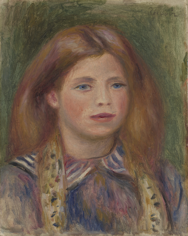 Auguste Renoir , Coco. Portrait de Claude Renoir, 1908