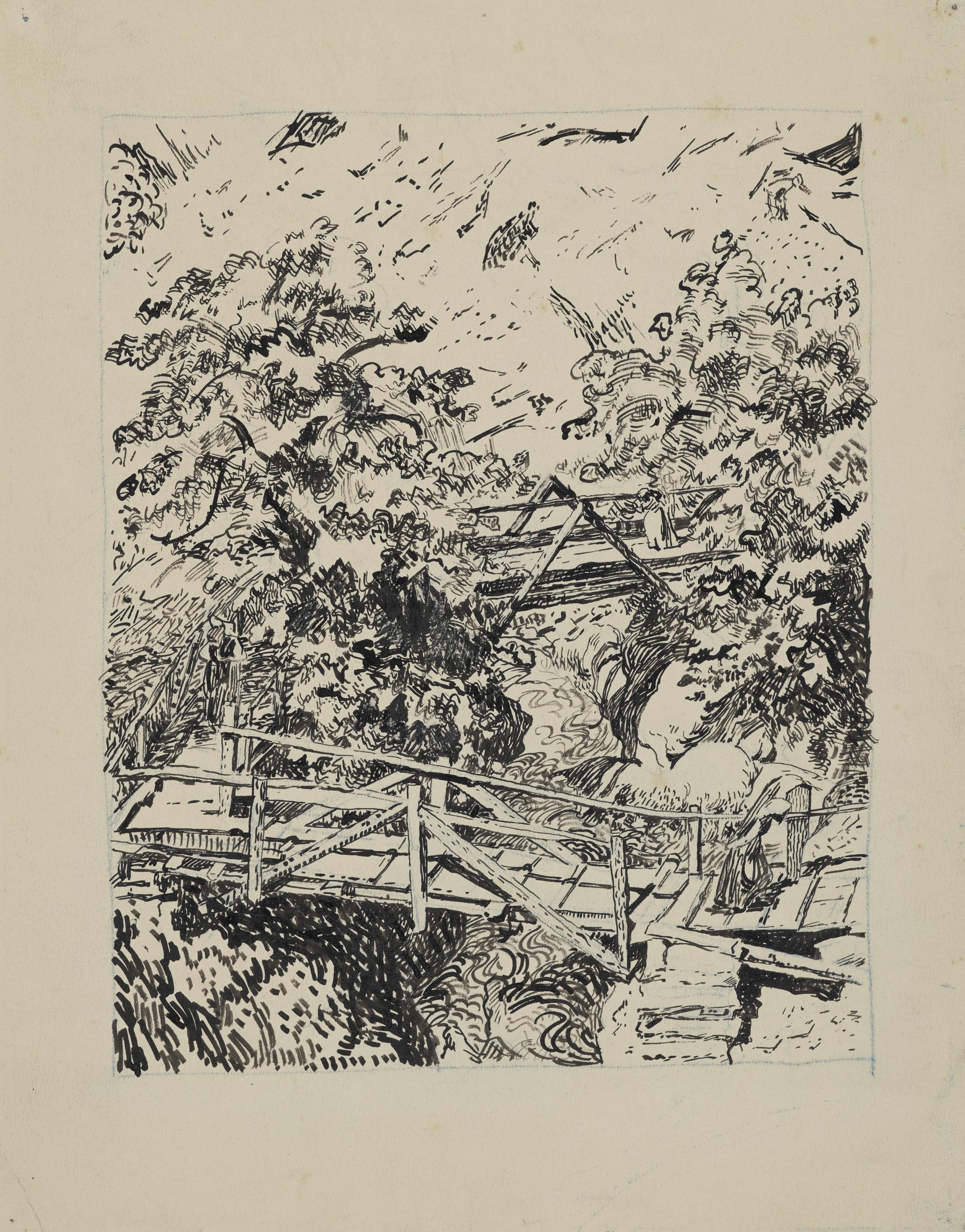 Giovanni Giacometti, Bestie da soma, vers 1895